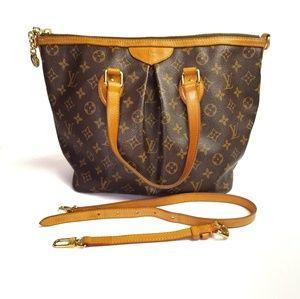 Authentic Louis Vuitton Palermo PM  bag w/strap